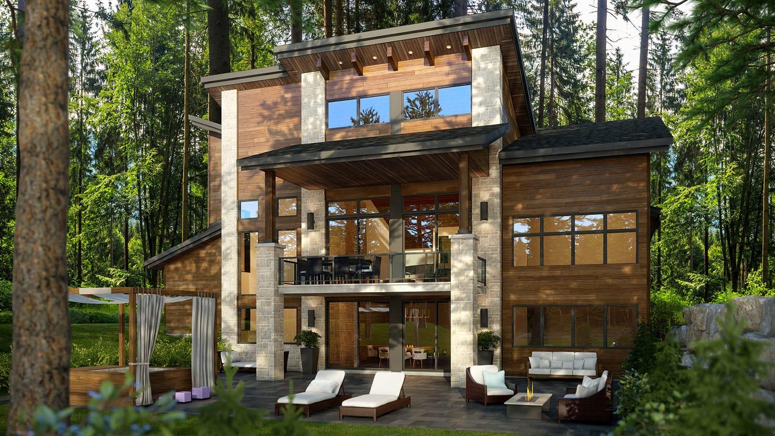 Le Norden | Projet immobilier à St-Sauveur | Maison d'inspiration | Le Mont-Blanc