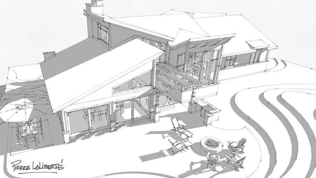 Le Norden | Projet Immobilier | Maison Le Mont-Gabriel | illustration