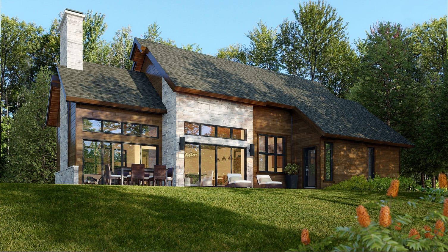 Le Norden | Projet immobilier à St-Sauveur | Maison d'inspiration Le Saint-Sauveur